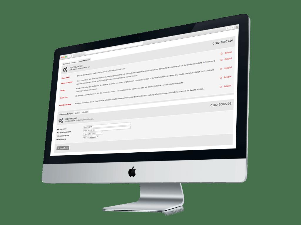 Online Tools und IVR für Servicenummern